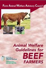 Cover Revised Animal Welfare Guidelines for Beef Farmers 2008