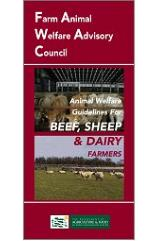 Cover Animal Welfare Guidelines for Beef, Sheep and Dairy Farmers 2003