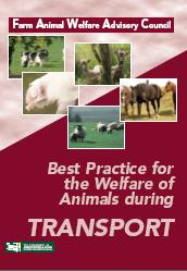 Cover Best Practice for the welfare of Animals During Transport